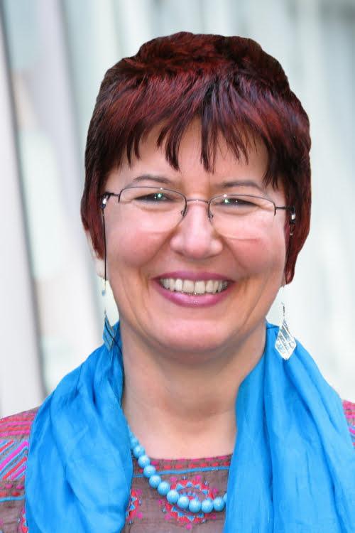 Trainerin Adrienne Rubatos