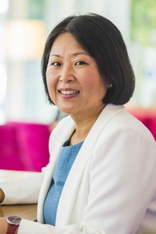 Trainerin Suk Geoung Han