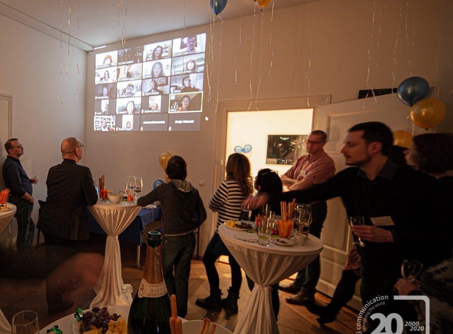 Virtuelles Feiern