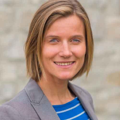 Mitarbeiterin Kristin Frauenhoffer