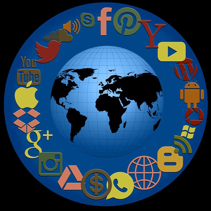 Symblobild für digitale Kommunikationskanäle