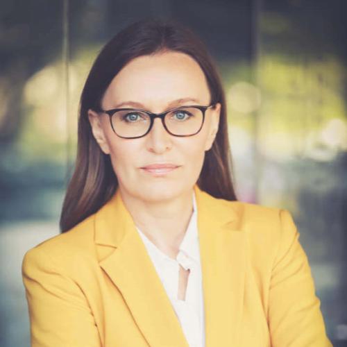 Trainerin Katarzyna Hübner