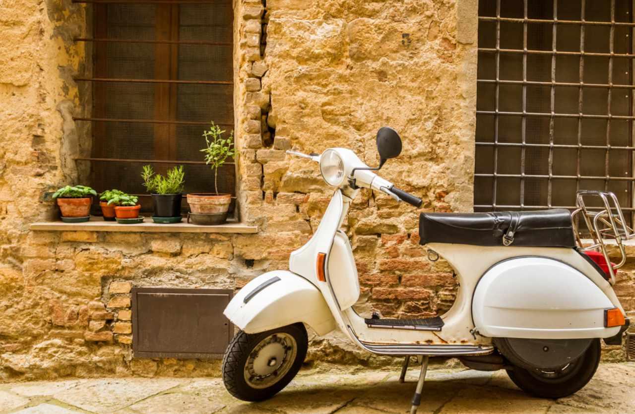 Vespa in Italien
