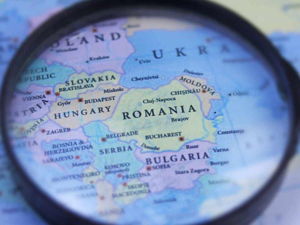 Landkarte Osteuropa