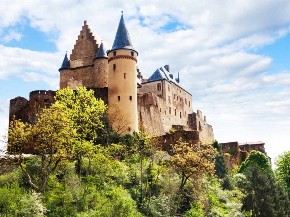 Luxemburg Burganlage